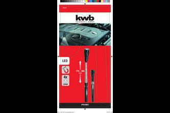 KWB Kraftixx kwb Telescoopmagneet met flexibele LED kop