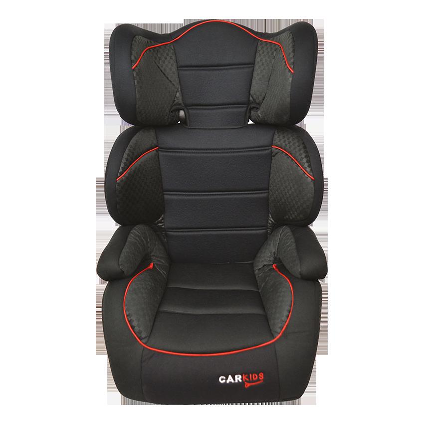 Afbeelding van Carkids autostoeltje groep 2/3 zwart/rood