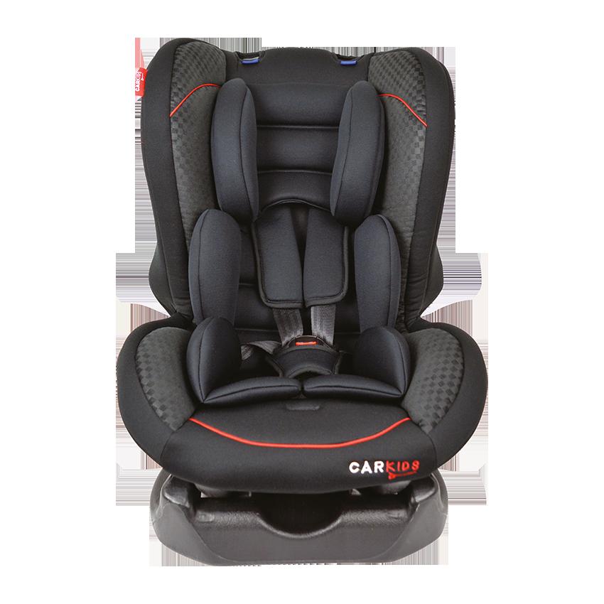 Afbeelding van Carkids autostoeltje groep 1 zwart/rood
