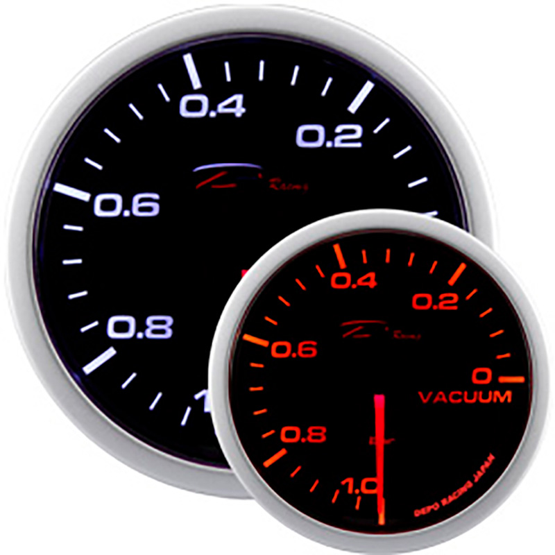 Afbeelding van Depo racing wa series diverse instrumenten vacu m 1,0 0,2 bar 52mm