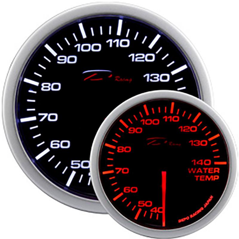 Afbeelding van Depo racing wa series diverse instrumenten watertemperatuur 40 140c 52mm