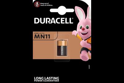 Duracell knoopcelbatterij MN11 alkaline staafbatterij 6 volt BP1