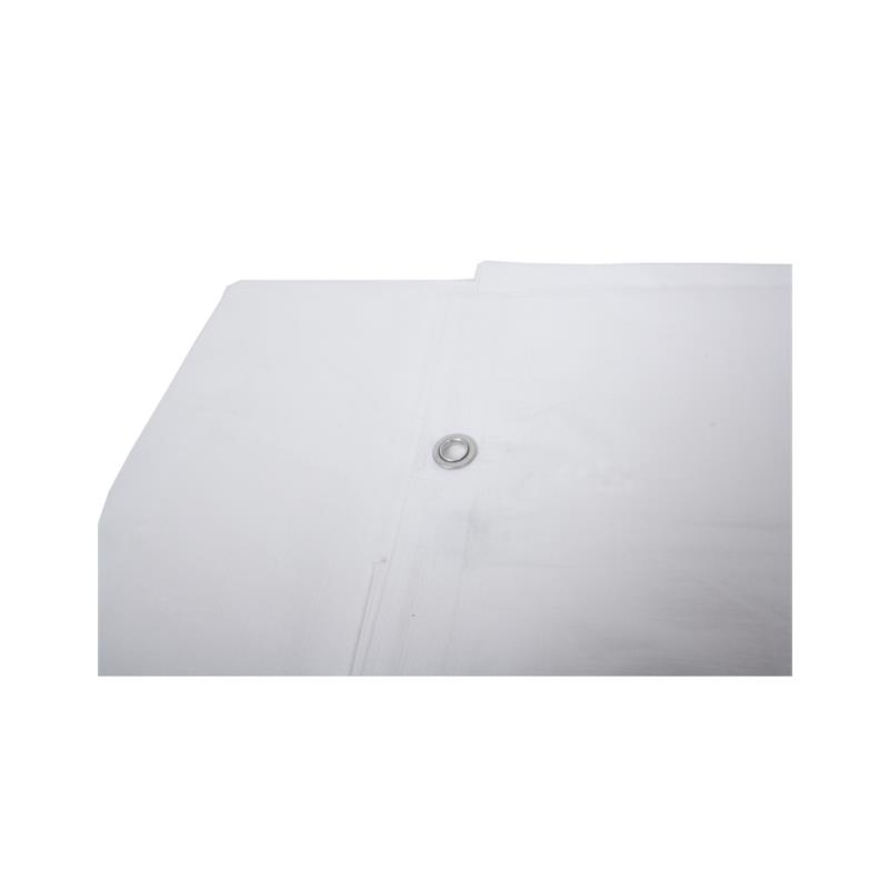 Afbeelding van Argos hekwerkdekkleed brandvertragend wit