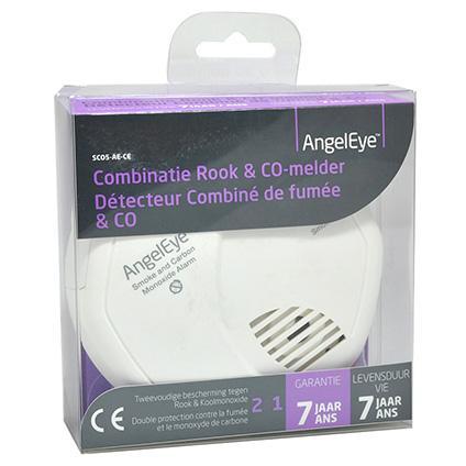 Afbeelding van Angeleye combi rook en koolmonoxidemelder