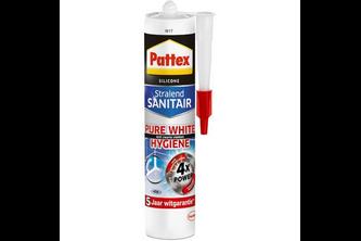Pattex Silicone Sanitair Pure White Hygiene - Uitverkoopartikel