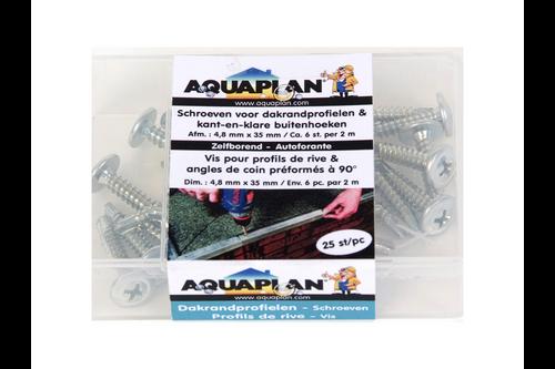 Aquaplan schroeven zelfborend 25 stuks 4,8 mm x 32 mm
