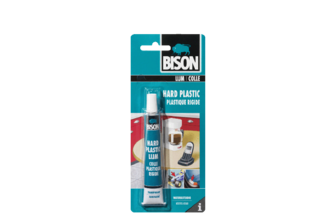 Bison Hard Plastic Lijm 25 ML, TUBE