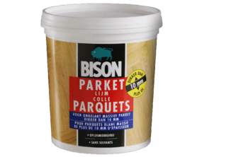 Bison Parketlijm voor Massief Parket 750 GR, POT