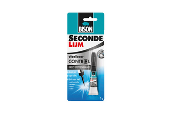 Bison Secondelijm Control 3 ML, TUBE