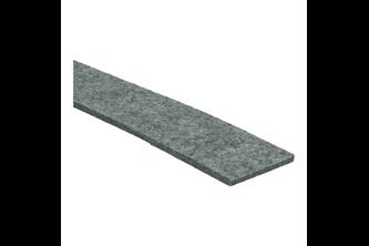 Oranje Furniture Care Zelfklevende viltstrook 5 cm x 100 cm (5mm dik), 1 strook, Grijs, Synthetisch