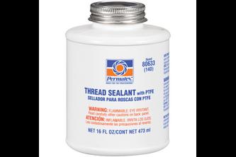 Permatex Thread Sealant with PTFE 475 ML, Wit