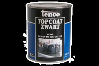 Tenco Topcoat Teervrij 2,5 LTR, ZWART, BUS