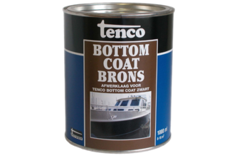 Tenco Bottomcoat 2,5 LTR, BRONS,  , BUS