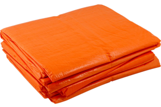 Argos PE Dekkleed / Dakzeil – Oranje 4 x 6 M