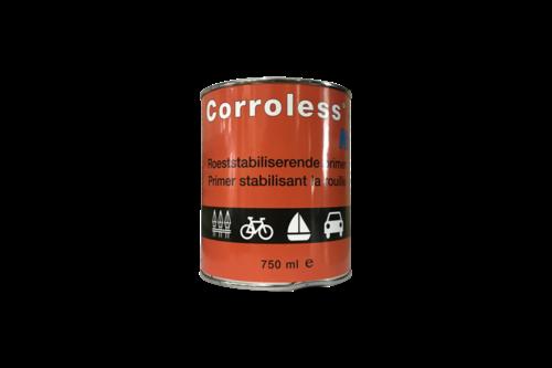 Corroless no. 1 anti-roest primer 500 ml, roodbruin, blik