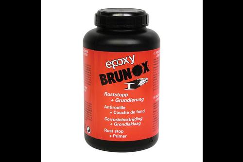 Brunox epoxy roestomvormer & grondlaklaag in een 1 l, flacon