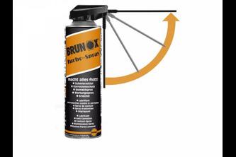 Brunox Turbo Spray Multifunctionele Spray 500 ML - PowerKlik, SPUITBUS