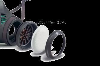 Moldex 8095 Fijnstof filterhouder voor serie 8000 2 STUKS