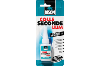 Bison DIY Bison Secondelijm Industrie 20 gr, FLACON