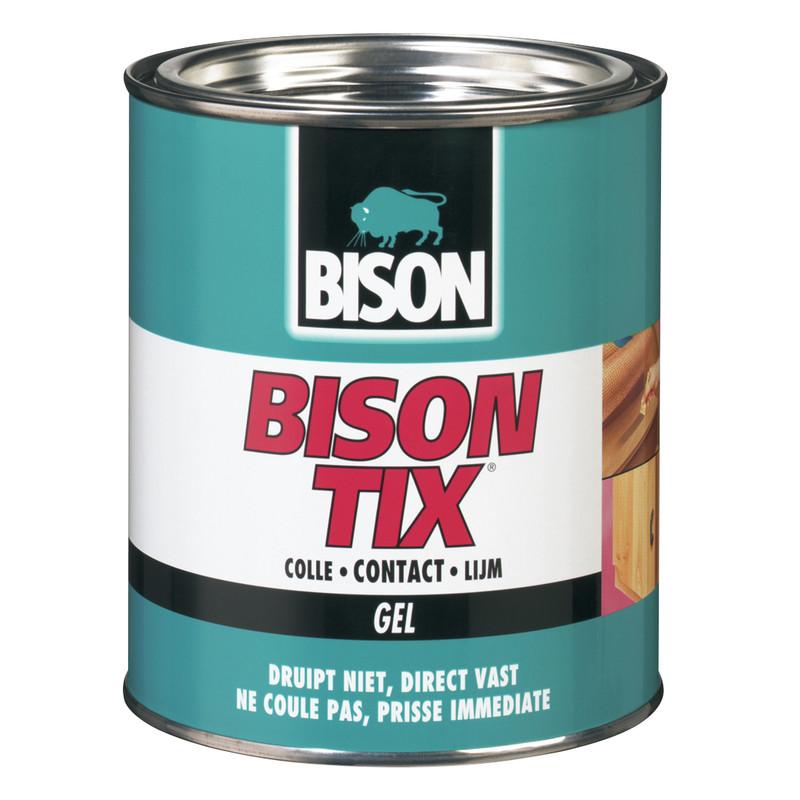 Afbeelding van Bison 1305250 Tix Contactlijm Gel Blik 250ml