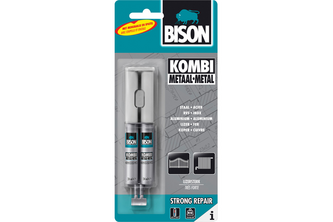 Bison Kombi Metaal 24 ML, DUBBELSPUIT