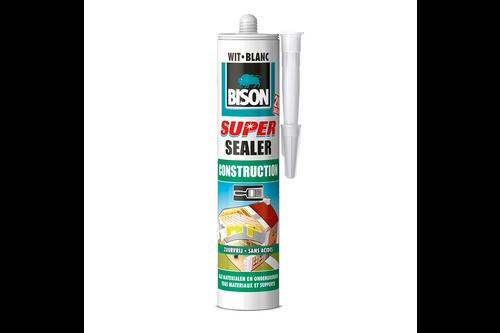 Bison super sealer construction 290 ml, wit
