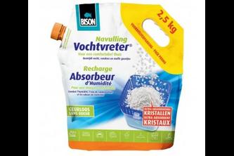 Bison Vochtvreter Air Max navulling losse kristallen 2,5 KG, ZAK