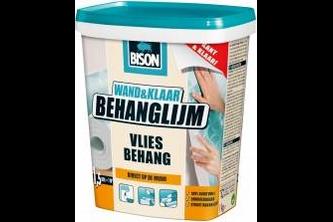 Bison DIY Bison Wand&Klaar Behanglijm Vliesbehang 1 KG, POT