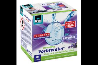 Bison Vochtvreter Ambiance Tab 2X 100 GR, Lavendel