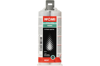 Womi 2K Plastic Repair Flex 50 ML, Zwart