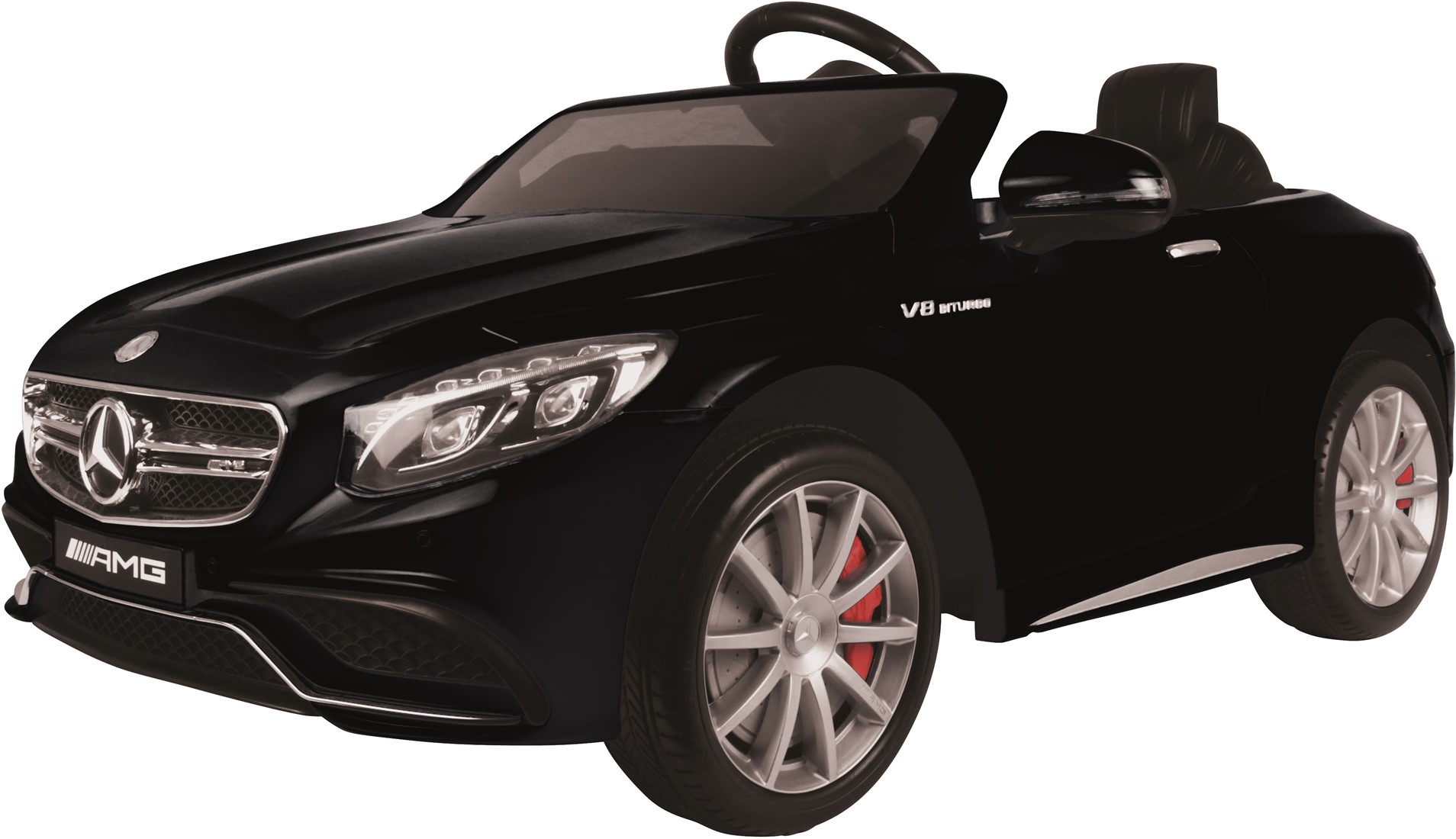 Afbeelding van E car mercedes benz s63 amg zwart
