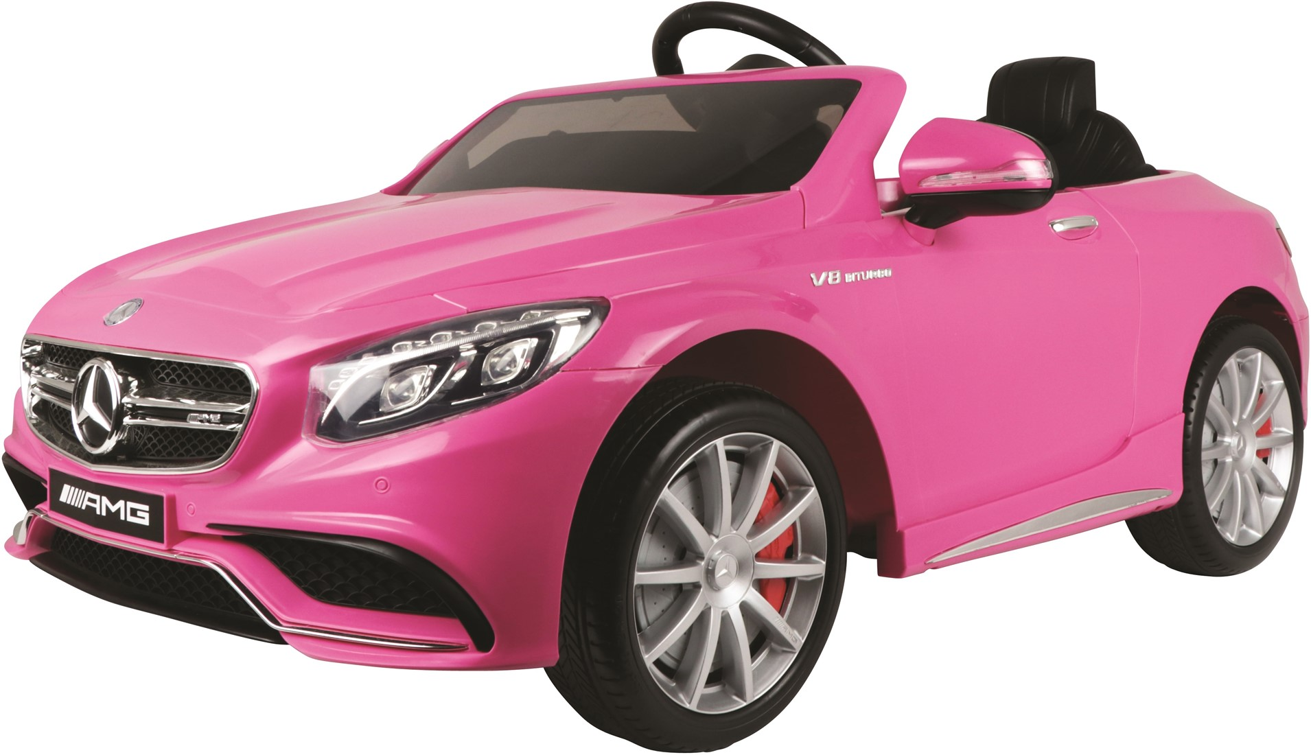 Afbeelding van E car mercedes benz s63 amg roze