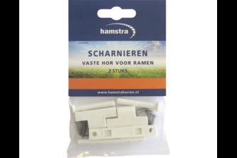Hamstra Scharnieren wit 2 stuks Hamstra wit