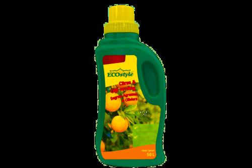 Ecostyle citrus & olijf plantenvoeding 500 ml,