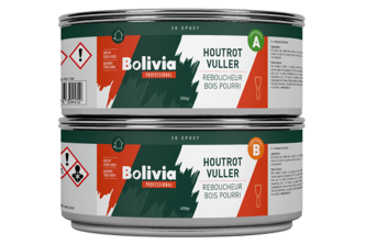 Bolivia Houtrotvuller Epoxy Set