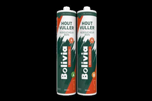 Bolivia houtvuller epoxy 2k 4 uur 600 ml