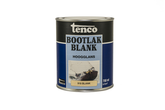 Tenco Blanke Bootlak 750 ML, BLANK, BUS