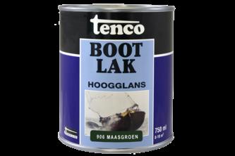 Tenco Bootlak kleur 750 ML, MAASGROEN, BUS