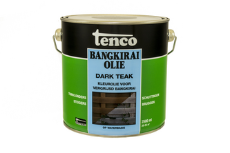 Tenco Bangkiraiolie 2,5 LTR, DARK TEAK, BUS