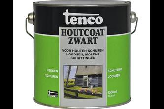 Tenco Houtcoat Zwart 2,5 LTR,