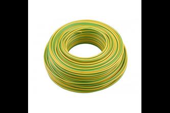 Elektrofix installatiedraad groen/geel 100 m x 2,5 mm