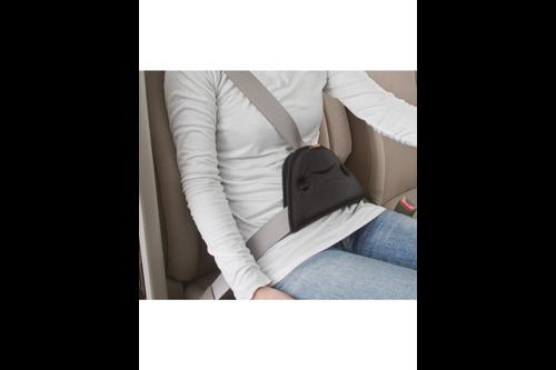 Autostyle comfortline gordelgeleider comfortpad - zwart - 25,5x14x3cm