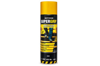 Rust-Oleum SuperGrip Anti Slip Spray 500 ML, GEEL, SPUITBUS
