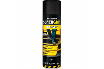 Rust-Oleum SuperGrip Anti Slip Spray 500 ML, ZWART, SPUITBUS