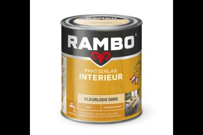 Rambo Pantserlak Interieur Transparant Mat