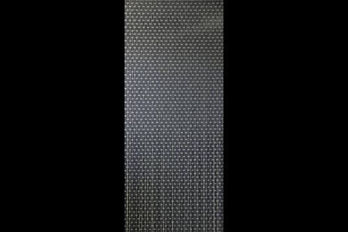 Sun-arts deurgordijn hulzengordijn verspringend 90x210cm, antraciet, hulzen