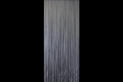 Sun-arts vliegengordijn palermo 90x210cm, grijs, kunststof