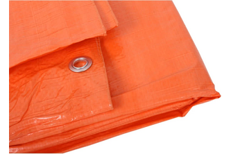 Argos PE Dekkleed / Dakzeil – Oranje 8 x 10 M, 100 g/m2, ORANJE