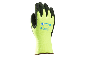 Glove-On Wintergrip Handschoen Acryl Latex Gecoat