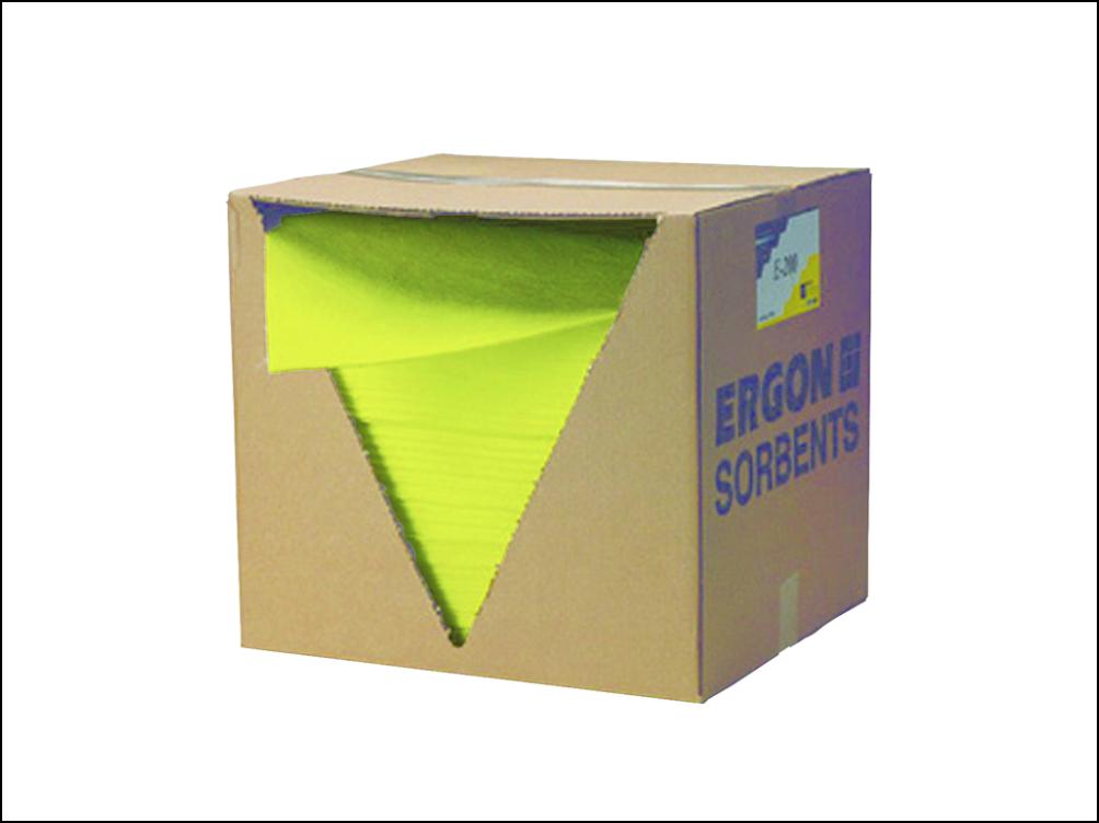 Afbeelding van Ergon sorbents eu 200 absorptiedoek geel stuks